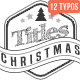 Christmas Titles Pack - VideoHive Item for Sale