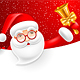 Santa Claus With Jingle Bell