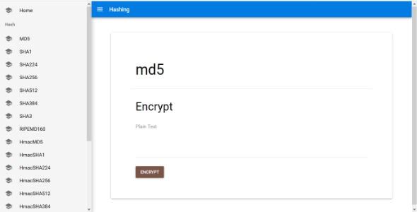 Hashing - Encrypt & Decrypt Text