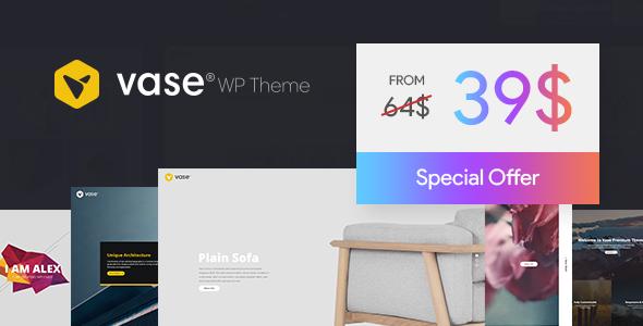 Vase - Premium WP Theme - Creative WordPress