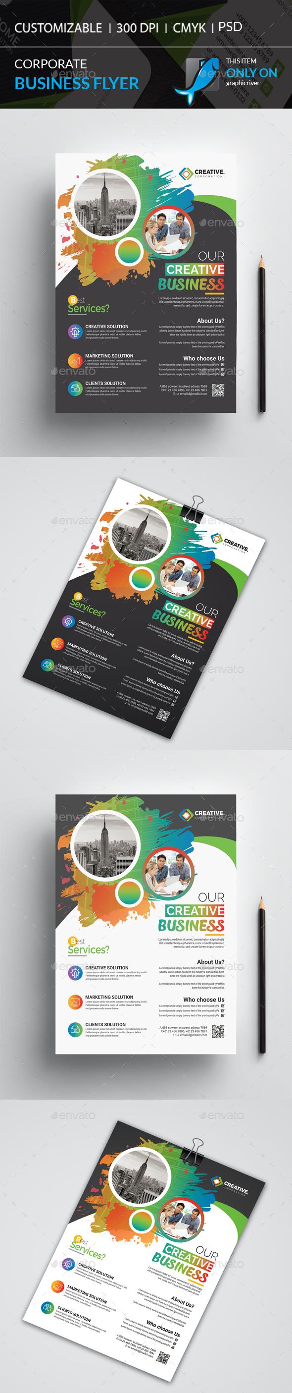 GraphicRiver Corporate Flyer 20974645