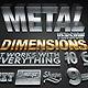 Dimensions Metal Version - 3D Generator Action - GraphicRiver Item for Sale