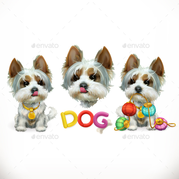 GraphicRiver Dog Vector 20974878