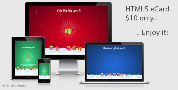 CodeCanyon Christmas Card Gifts v1 20974888
