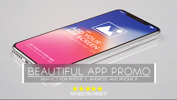 VideoHive Beautiful App Promo 20975099
