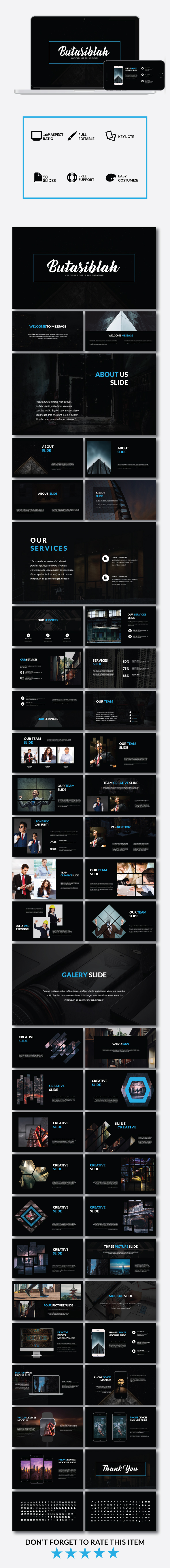 GraphicRiver Butasiblah Multipurpose Keynote 20975125