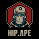 Hip Ape T-Shirt Template