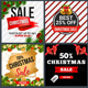 Christmas Sale Banners Psd Template - GraphicRiver Item for Sale