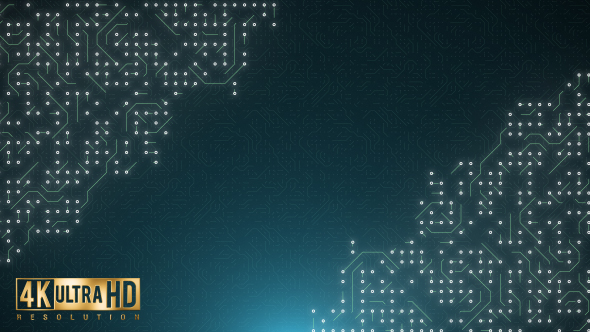 Circuit Background by dofx | VideoHive