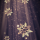 Christmas Heavenly Snowflakes 1 - VideoHive Item for Sale