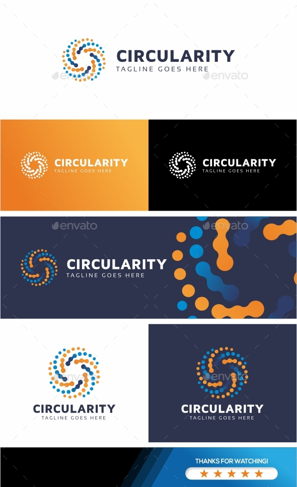 GraphicRiver Circularity Rotation Points 20975389