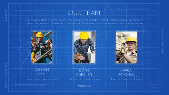 Blueprint construction presentation by rlgr videohive play preview video malvernweather Image collections
