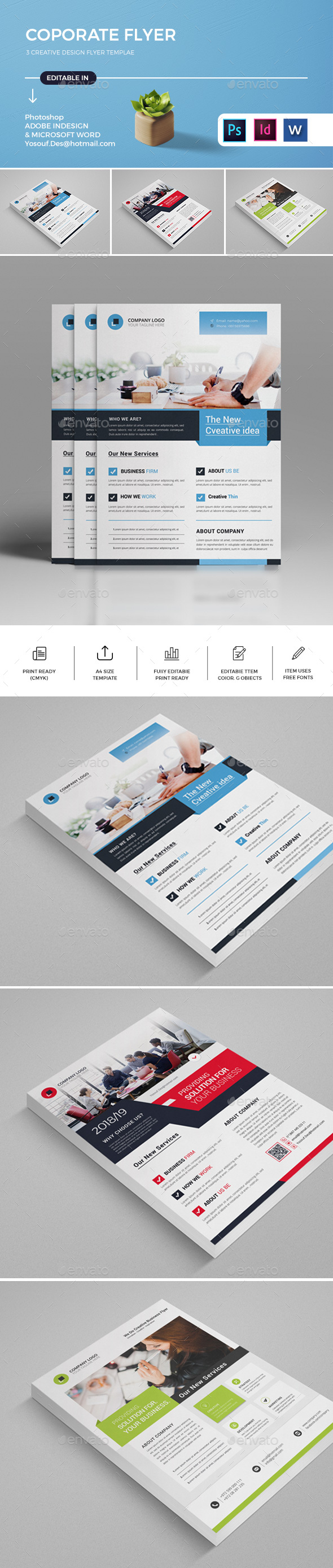 GraphicRiver Flyers 20975456