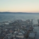 Sunset Over Trondheim. Panorama of the City, Top View. Norway Aerial - VideoHive Item for Sale