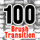 100 Brush Transition Matte - VideoHive Item for Sale