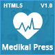 MedikalPress - Health Medical Dental - ThemeForest Item for Sale