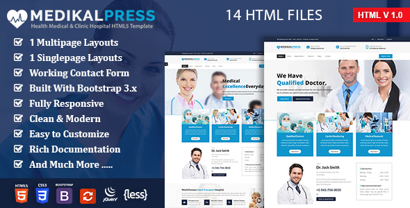 Download MedikalPress - Health Medical Dental            nulled nulled version