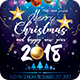 Christmas And New Year 2018 Flyer - GraphicRiver Item for Sale