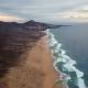 Flight Over Desert Beach on Fuerteventura Island, Spain - VideoHive Item for Sale
