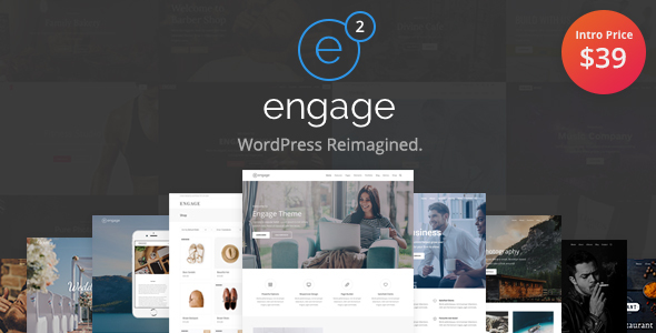 Engage - Responsive Multipurpose WordPress Theme - Business Corporate