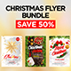 Merry Christmas Flyer Bundle 2