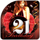 My 21th Birthday Flyer Template - GraphicRiver Item for Sale