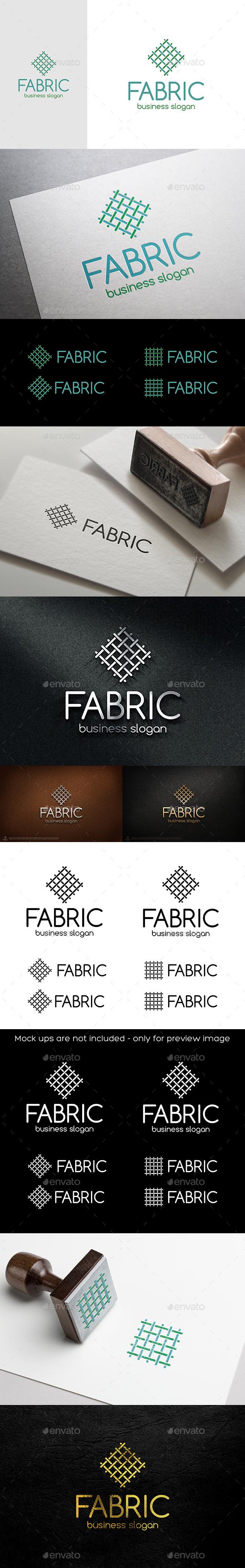 Fabric Canvas Linien Logo - Symbols Logo Templates