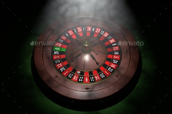 GraphicRiver Casino Roulette Wheel 3D Render 20977156