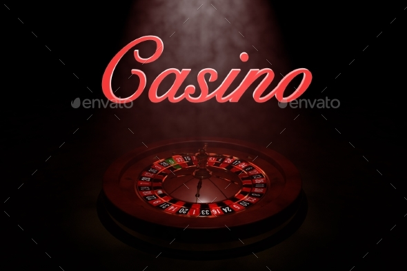 GraphicRiver Casino Roulette Wheel 3D Render 20977158