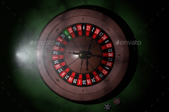 GraphicRiver Casino Roulette Wheel 3D Render 20977161