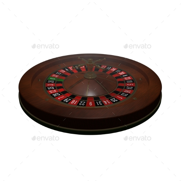 GraphicRiver Casino Roulette Wheel 3D Render 20977163