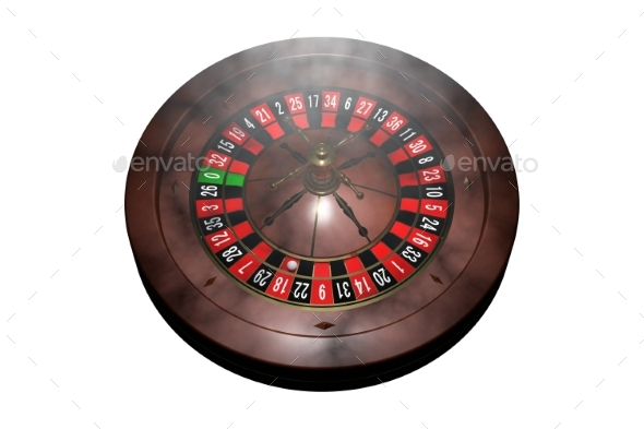 GraphicRiver Casino Roulette Wheel 3D Render 20977165