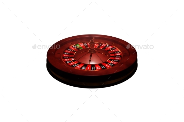 GraphicRiver Casino Roulette Wheel 3D Render 20977166