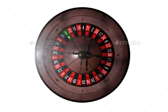 GraphicRiver Casino Roulette Wheel 3D Render 20977170