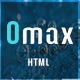 Omax - One Page Multi-Purpose HTML5 Template