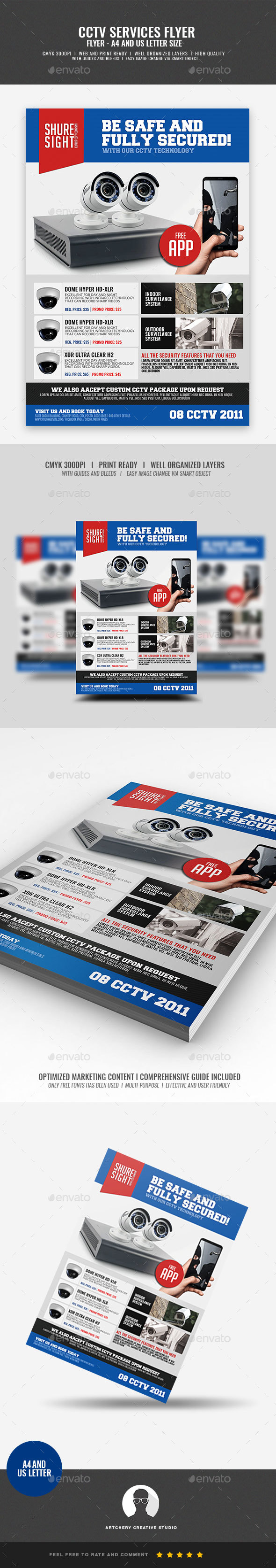 GraphicRiver CCTV Promotional Flyer 20947545