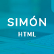 Simón -  Creative Agency, Corporate and Multi-purpose Template - ThemeForest Item for Sale