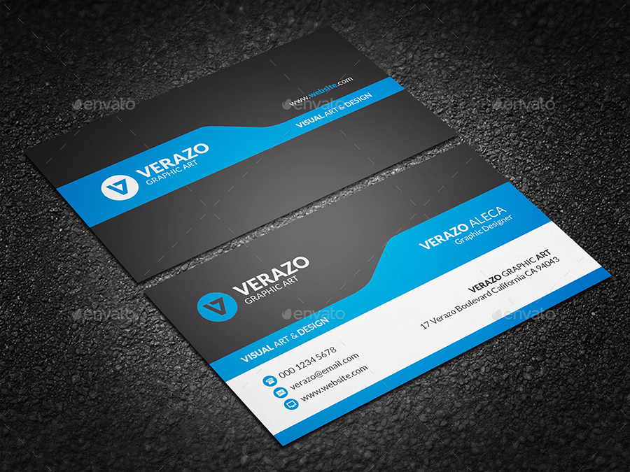 Business Card Bundle 40 by verazo | GraphicRiver