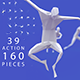 Low Poly Series / Human Action Poses (thin)