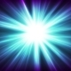 Blue Glowing Shiny Beams Abstract Video Animation - VideoHive Item for Sale