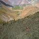 Aerial Footage. Flying Over a Mountain Ridge and Valley. . Rocky Terrain - VideoHive Item for Sale