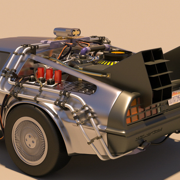 Dmc Delorean Back To The Future Part 1 By Indrapermanahadi