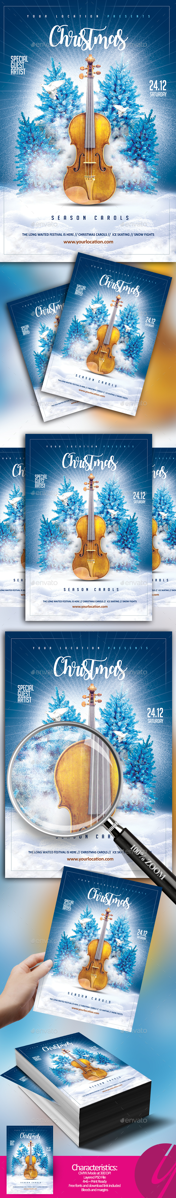 GraphicRiver Christmas Season Carols 20977996