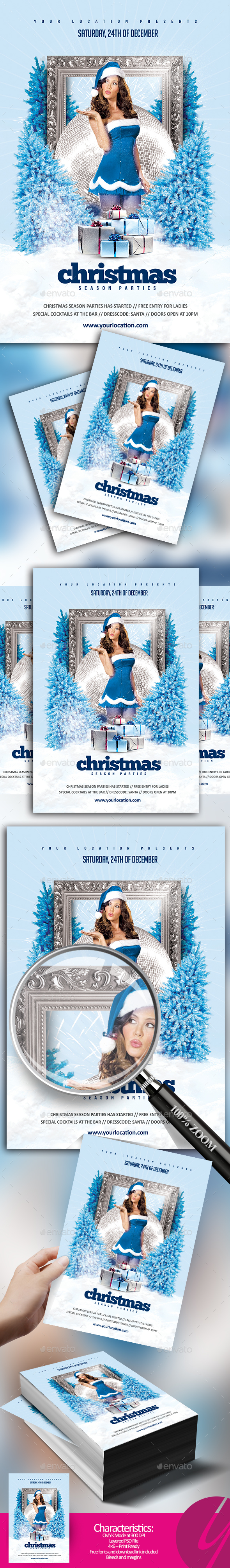 GraphicRiver Christmas Season Parties 20978543