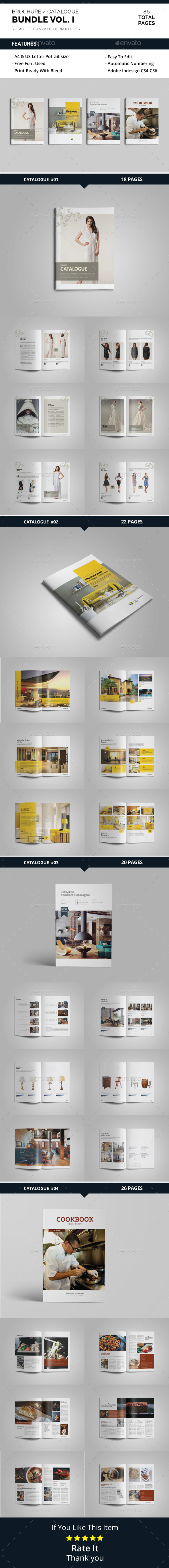 Brochure / Catalogue Bundle Vol. 1 - Catalogs Brochures