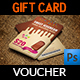 Ice Cream Voucher Gift Card Template - GraphicRiver Item for Sale
