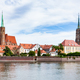 view of Ostrow Tumski district in Wroclaw city - PhotoDune Item for Sale