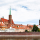 churches of Ostrow Tumski district in Wroclaw city - PhotoDune Item for Sale