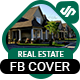Real Estate Facebook Cover Template (AR)