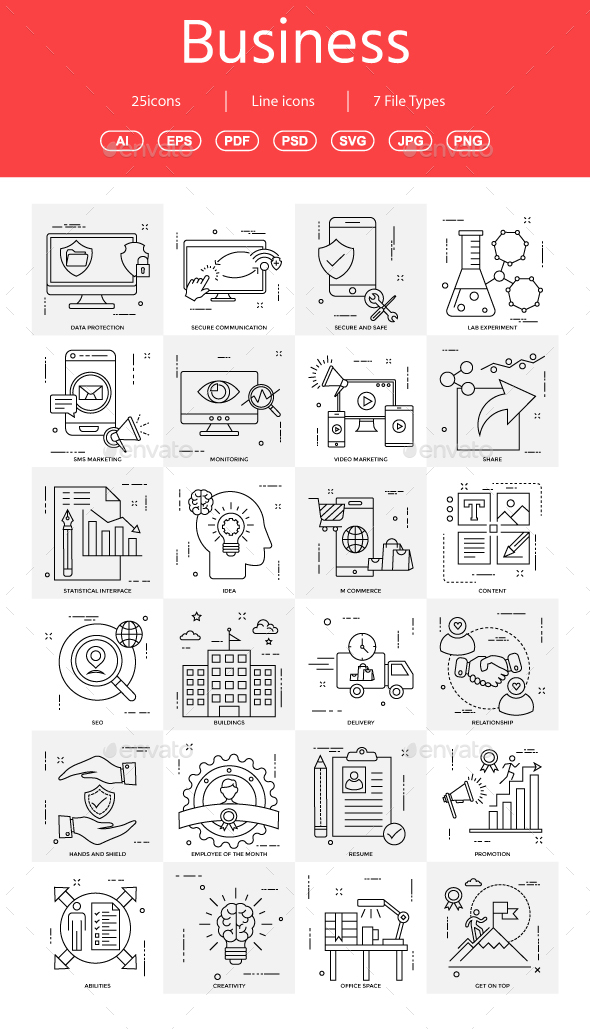 GraphicRiver 15& Vector Business Illustration 20979577